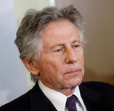 Polish film director Roman Polanski in court in Cracow Royalty Free Stock Image
