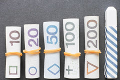 Polish financial education Stock Image