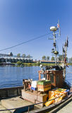 Polish fishing boat Royalty Free Stock Photos