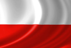 Polish flag Royalty Free Stock Photos
