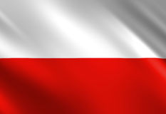 Polish flag Stock Image