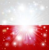 Polish flag background Royalty Free Stock Images