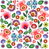 Polish folk background Stock Images