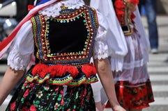 Polish folk costume. Royalty Free Stock Images