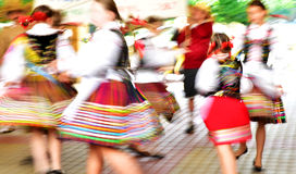 Polish Folk Dancers Stock Image