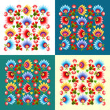 Polish folk pattern Royalty Free Stock Photo