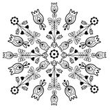 Polish folk pattern Royalty Free Stock Photography