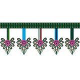 Polish folk pattern Royalty Free Stock Images