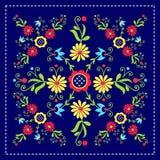 Polish folk pattern. Polish folk design, pattern - inspiration stock illustration