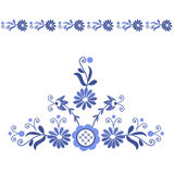 Polish folk pattern. Polish folk design, pattern - inspiration royalty free illustration