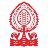 Polish folk pattern. Polish folk design, pattern leluja royalty free illustration