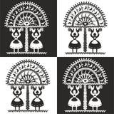 Polish folk pattern. Polish folk design, pattern leluja vector illustration