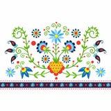 Polish folk Stock Photo