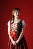 Polish folk woman Stock Photography