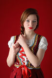 Polish folk woman Royalty Free Stock Photos