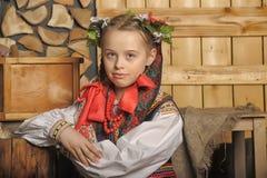 Polish girl stock images