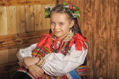 Polish girl Royalty Free Stock Images
