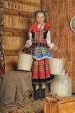 Polish girl royalty free stock photography