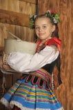 Polish girl stock image