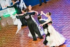 Polish hampionship in ballroom dance Royalty Free Stock Photos