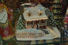Polish hand-painted Christmas baubles Stock Photos