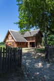 Polish historic village house Royalty Free Stock Photography