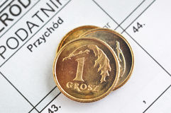 Polish income tax Stock Photography