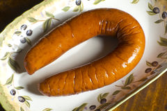 Polish Kielbasa Sausage Royalty Free Stock Photos