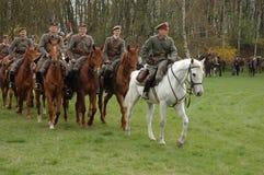 Polish lancers Royalty Free Stock Image