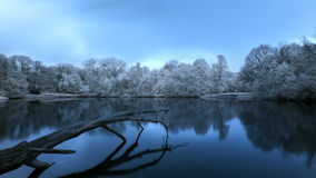Polish landscape. Photo Infrared Royalty Free Stock Photos