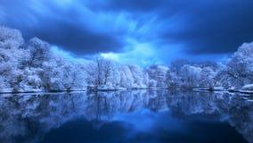 Polish landscape. Photo Infrared Stock Images