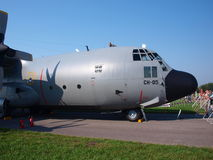 Polish Lockheed C-130 Hercules, Radom, Poland Royalty Free Stock Photography