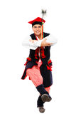 Polish man in a traditional outfit Stock Image