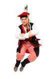 Polish man in a traditional outfit Stock Images