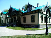 Polish Manor Pan. Park of polish Manor Pan Stock Image