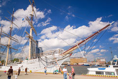Polish maritime museum ship  Royalty Free Stock Photos