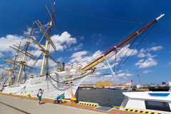 Polish maritime museum ship  Royalty Free Stock Images
