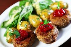 Polish meatballs Stock Photography