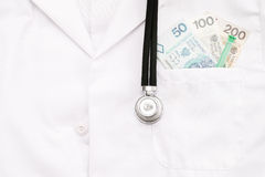 Polish medical costs Stock Photography
