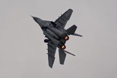 Polish MiG-29 Royalty Free Stock Photography