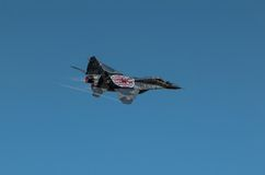 Polish Mig-29 demo display team Stock Photos