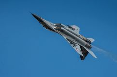 Polish Mig-29 demo display team Royalty Free Stock Photos