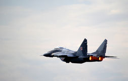Polish Mikojan-Goerevitsj Mig-29 Royalty Free Stock Photo