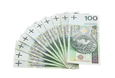 Polish money Royalty Free Stock Photo