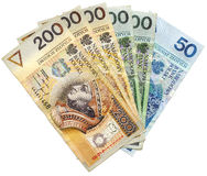 Polish Money Royalty Free Stock Photography
