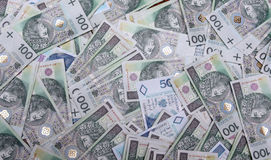 Polish money Stock Images