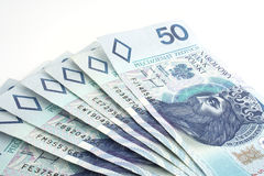 Polish money Stock Photos