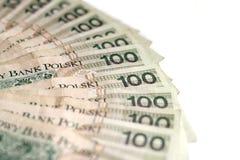 Polish money Stock Images