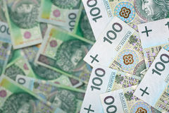Polish Money Royalty Free Stock Photography