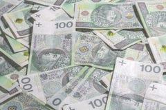 Polish money background. Stock Photography
